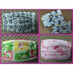 Detské ochranné šité rúška